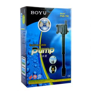 Boyu Submersible Pump PGB 750 300x300 - Marfied Contro Soil Black 3mm 10L