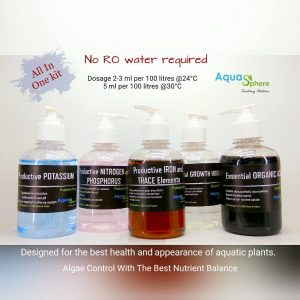 Aquasphere Fertilizers Kit