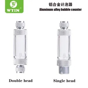 Wyin Single Head and Double Head Bubble Counter