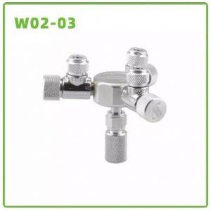Wyin ZRDR 3 Way Co2 Splitter