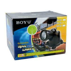 Boyu Submersible Spot Light SD 35 Pond Light 300x300 - Boyu Submersible Spot Light SD-35
