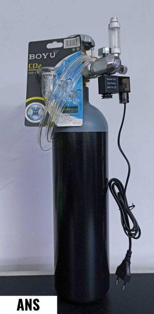 ANS 3 Ltr CO2 Kit with Wyin Single Gauge Regulator