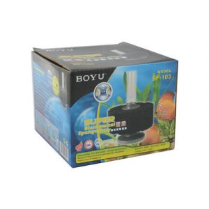 BOYU Biochemical Sponge Filter SF 103 300x300 - Boyu BioSponge Filter SF-103
