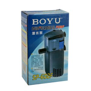 Boyu Submersible Filter Pump SP 602F 300x300 - Boyu Submersible Internal Filter SP-602F