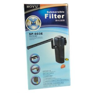 Boyu Submersible Filter SP 603E 300x300 - Boyu Submersible Internal Filter SP-603E