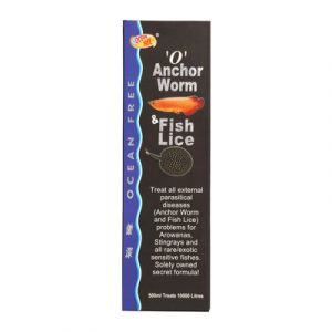 Ocean Free 0 Anchor Worm Fish Lice Fish Treatment 500 Milli Litre 300x300 - Ocean Free 0 Anchor Worm & Fish Lice 500ml