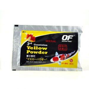 Ocean Free 3rd Generation Yellow Powder 5gm