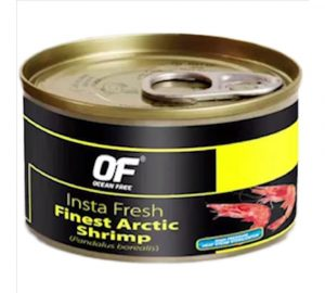 Ocean Free Insta Fresh Finest Arctic Shrimp 100g