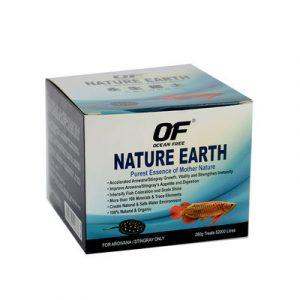 Ocean Free Nature Earth For Arowana/stingray – Water Treatment 260gm