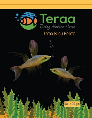 Teraa Small Fish Food – Bijou Pellets 300x386 - Small Fish Food 20gm
