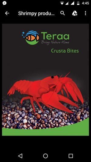 Teraa Crusta Bites 300x533 - Crusta Bites CrayFish Food 20gm
