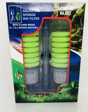 Bio Sponge Filter With X-lone Media & Bacteria
