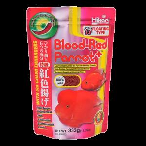 Hikari Blood Red Parrot+ Floating Medium 600gm