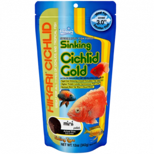 Hikari Cichlid Gold Sinking Medium 342gm