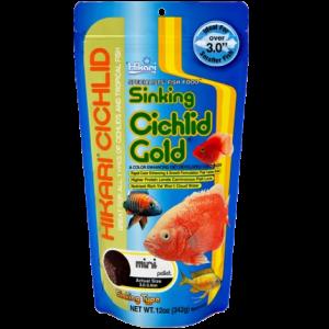 Hikari Cichlid Gold Sinking Mini 100gm