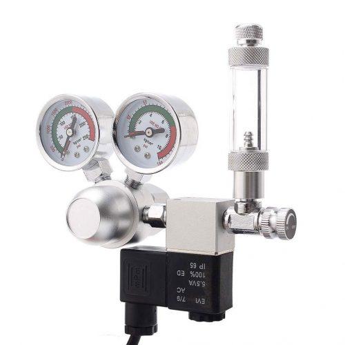 Dual Gauge CO2 Regulator with Solenoid