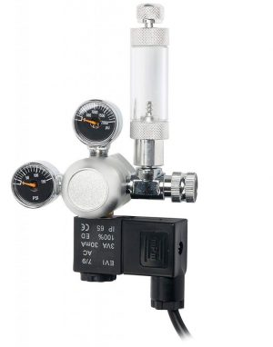 Dual Gauge CO2 Regulator with Solenoid