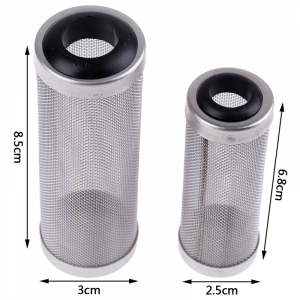 Stainless Steel Filter Inlet Case Mesh Shrimp Nets