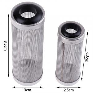 Stainless Steel Filter Inlet Case Mesh Shrimp Nets
