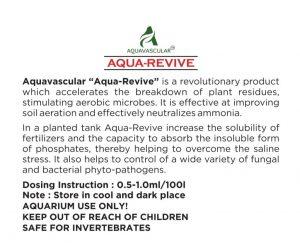 Aquavascular Aqua-Revive Description