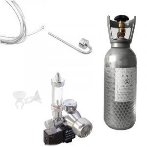 4 Ltr CO2 Cylinder Set with Wyin Single Regulator