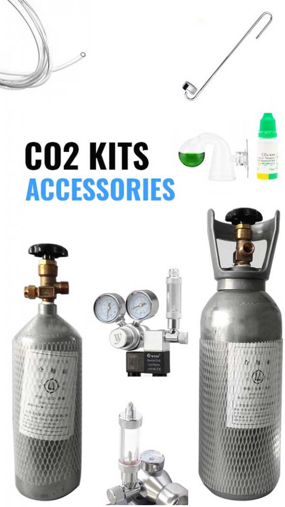 CO2 Kits and Accessories for Planted Aquarium