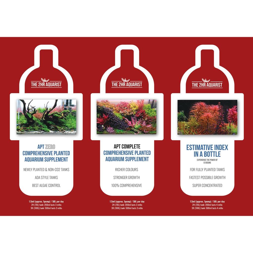2HR Aquarist Fertilizer Comparison
