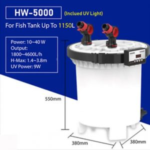 SunSun HW 5000 Specification